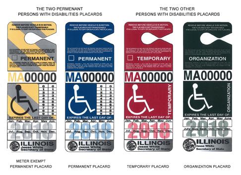 Handicap Placards