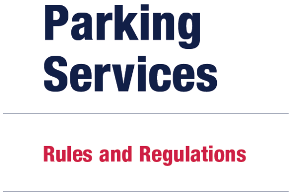 UIC PARKING RULES AND REGULATIONS